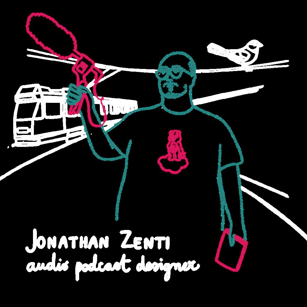 Jonathan Zenti audio podcast chi sono